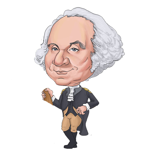 George washington clip art free.