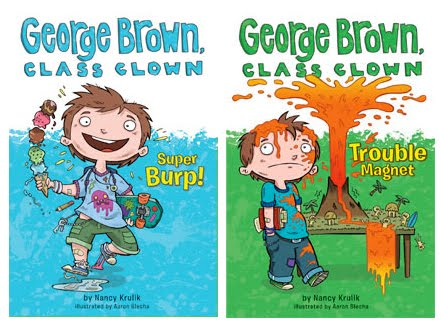 Blogcha!: George Brown, Class Clown!.