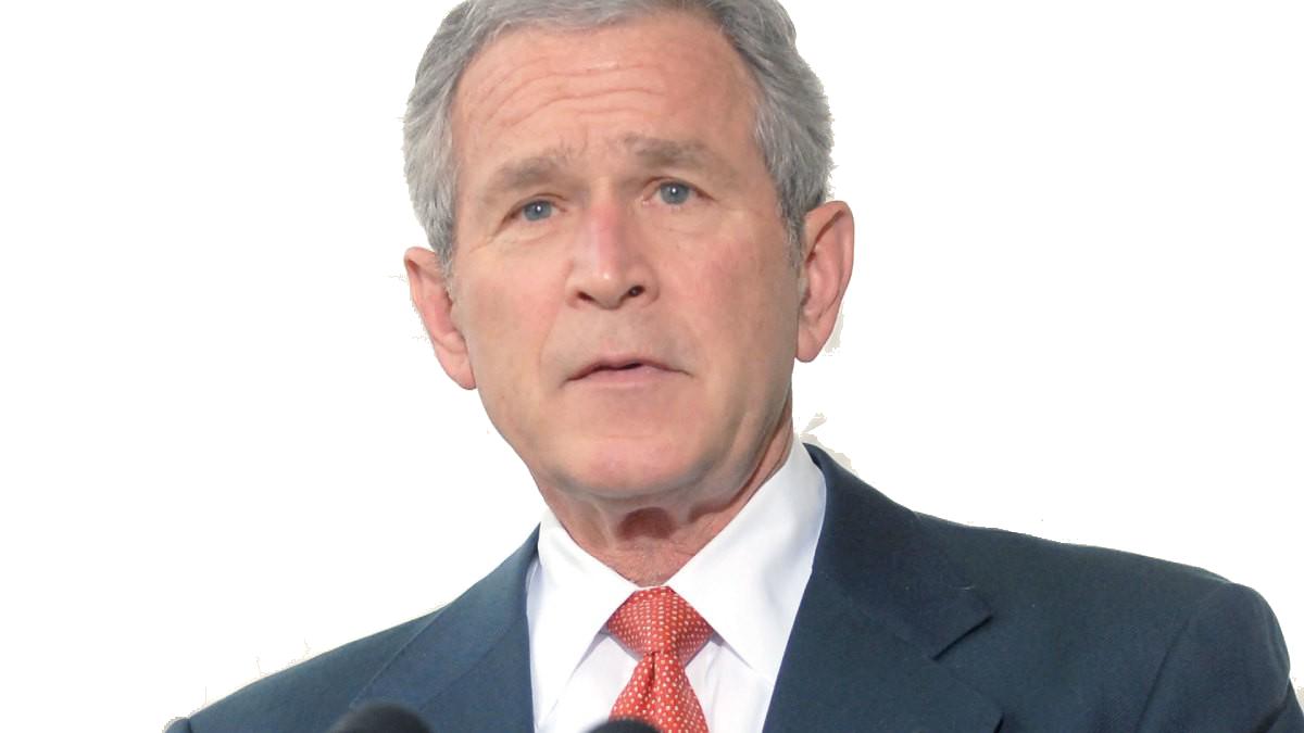 George Bush PNG Photo Background.