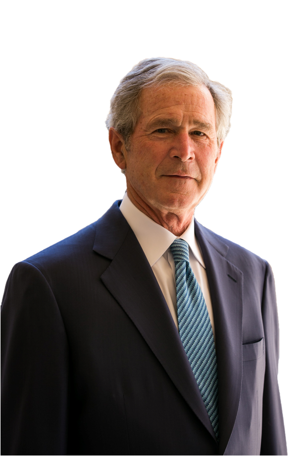 George Bush PNG Image.
