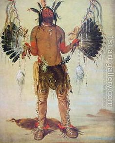 George Catlin. Indian Boy.