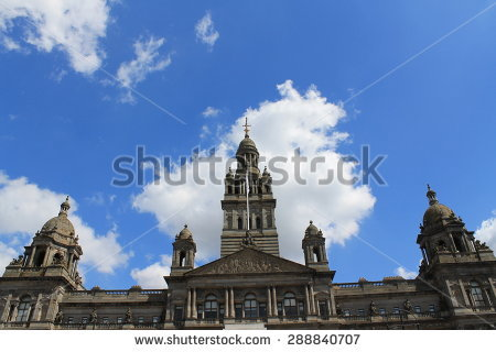 George Square Stock Photos, Royalty.