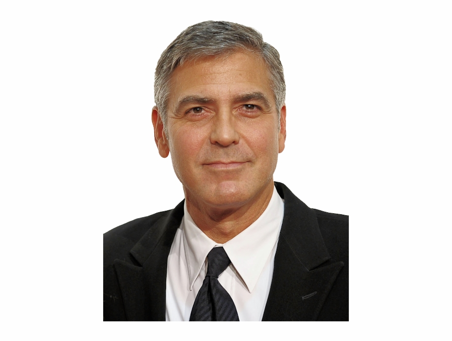 George Clooney Png Image George Clooney No Beard.