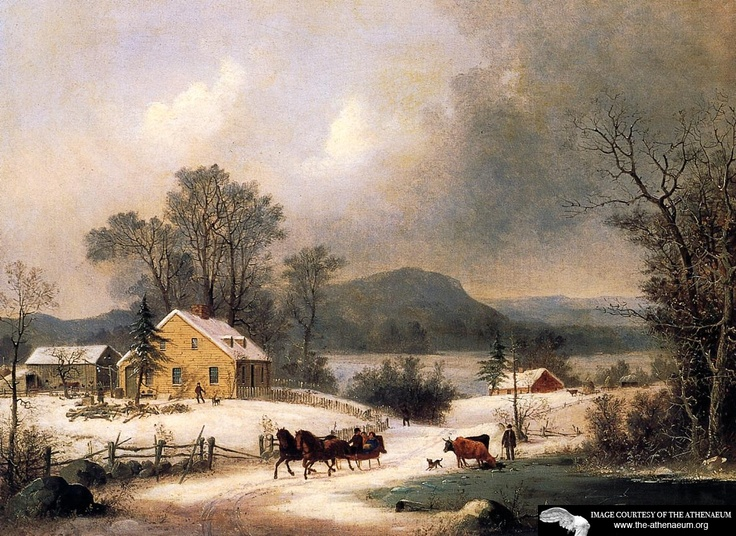 1000+ images about Currier & Ives on Pinterest.