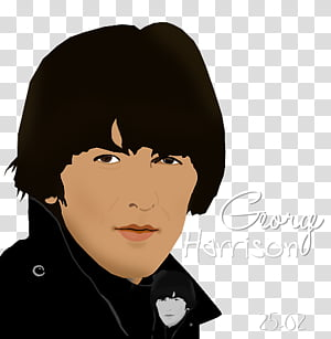 George Harrison transparent background PNG cliparts free.