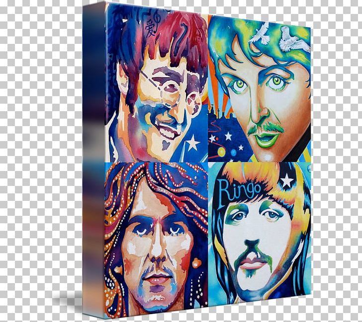 George Harrison Paul McCartney Gallery Wrap Here Comes The.
