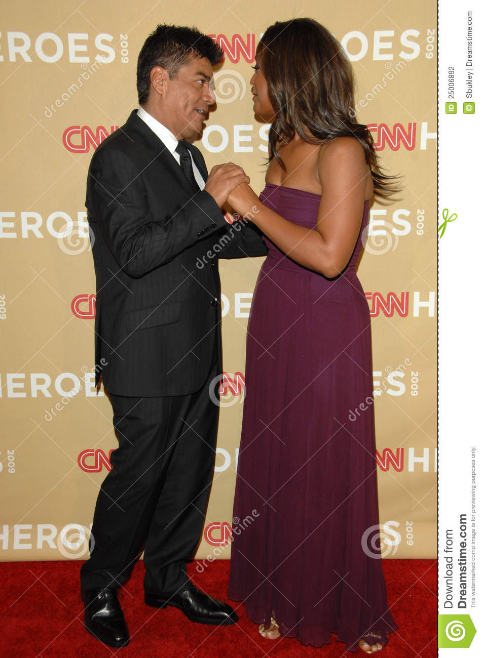 George Lopez,Laila Ali,CNN Heroes Editorial Photography.