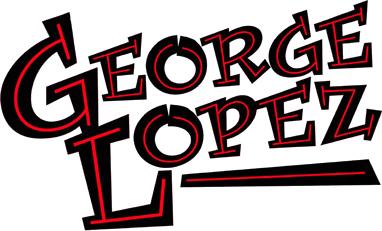 George Lopez font.