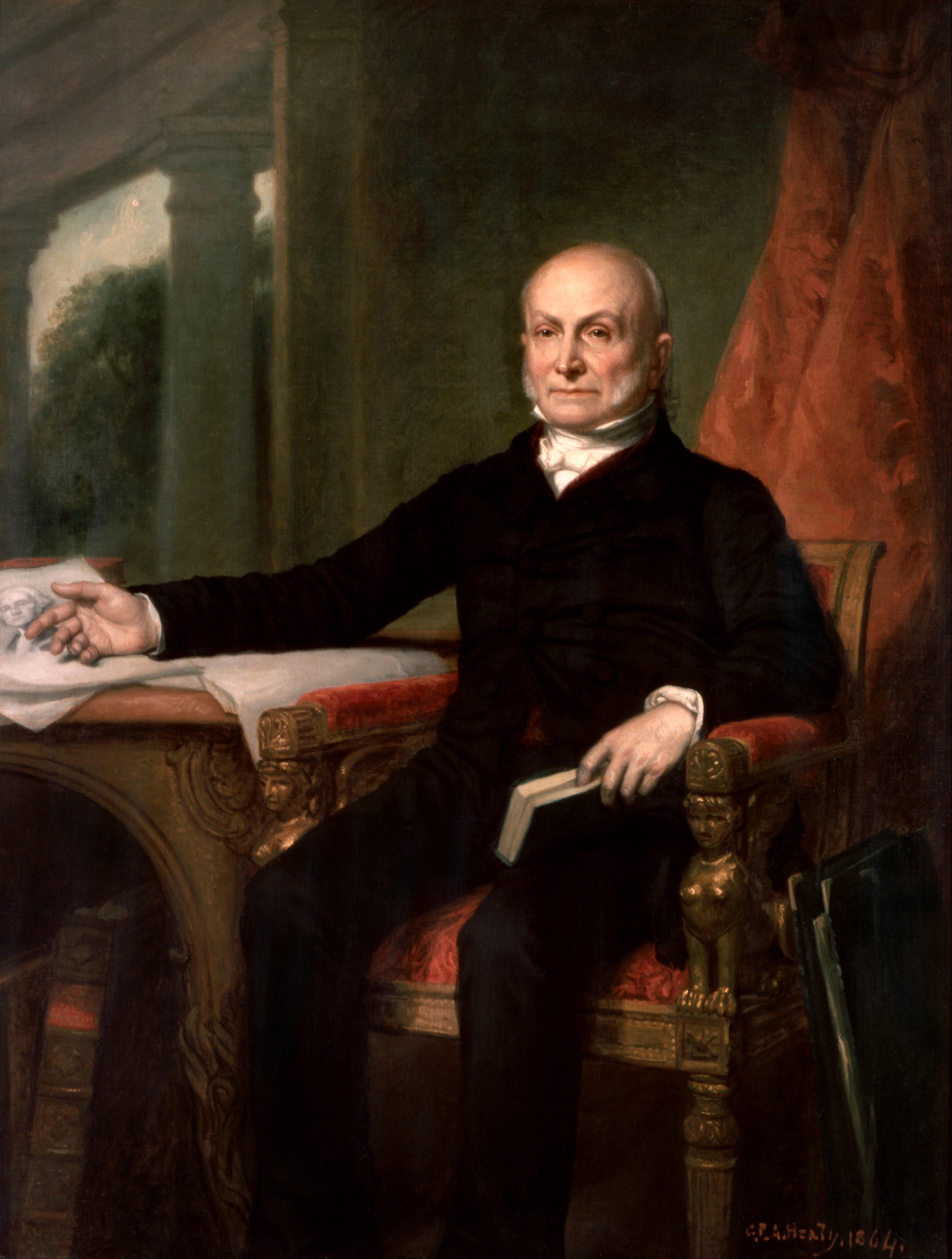 John Quincy Adams Portrait.