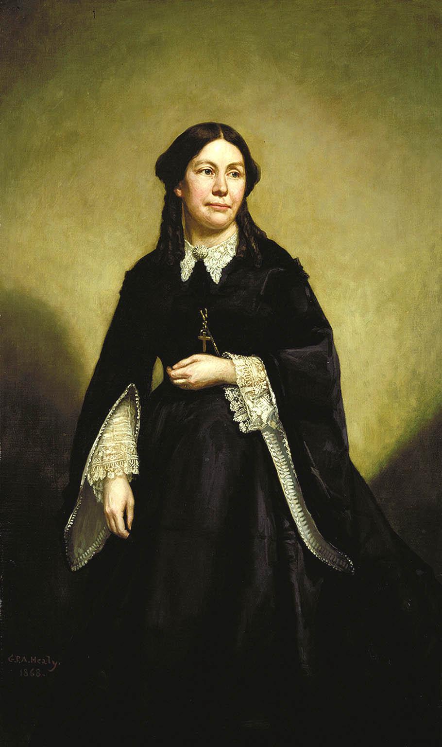 Mrs. William Tecumseh Sherman by George Peter Alexander Healy.