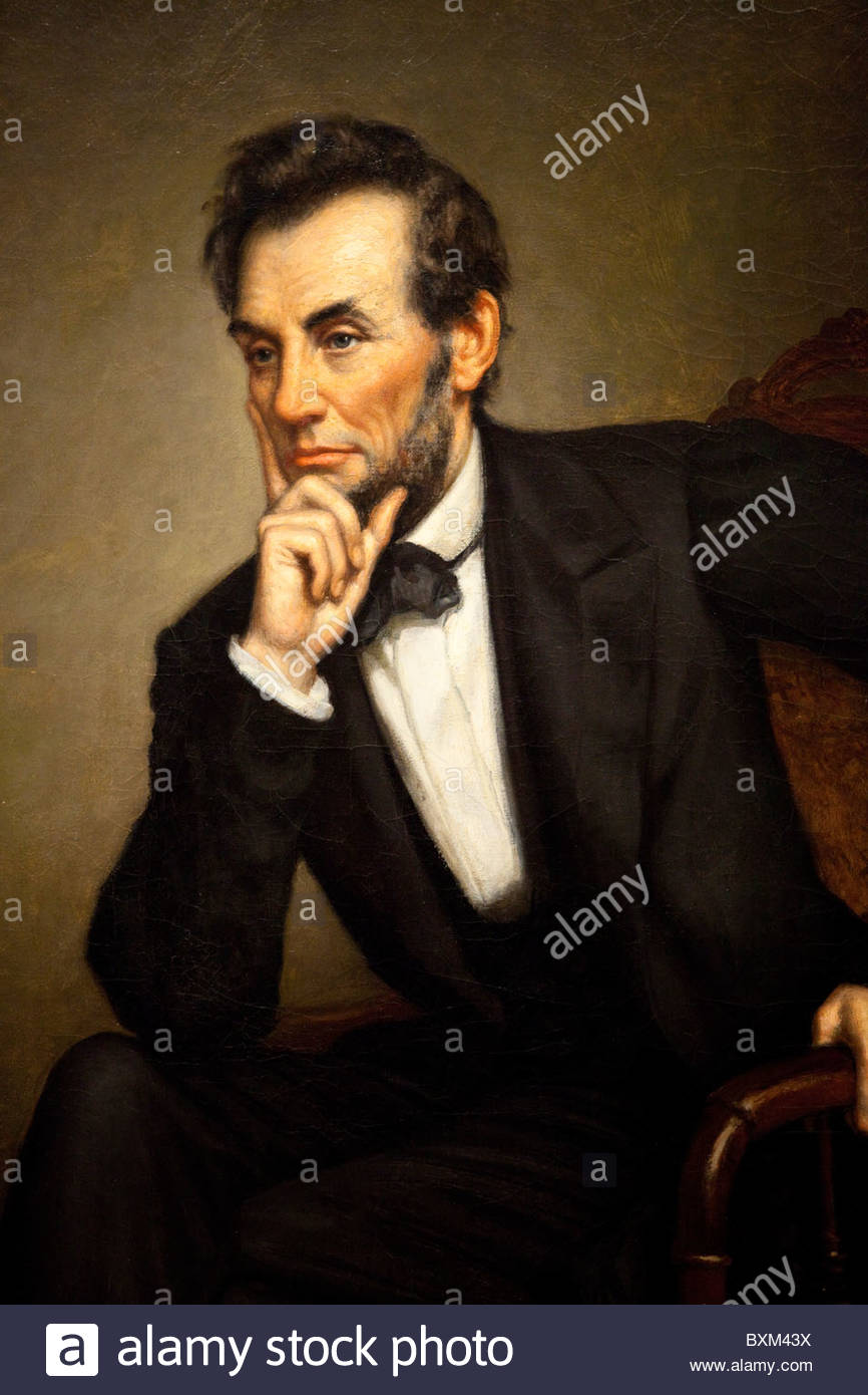 Abraham Lincoln Portrait Painting Stock Photos & Abraham Lincoln.