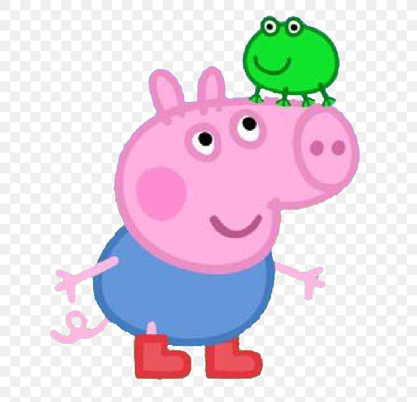 Daddy Pig Mummy Pig George Pig, PNG, 719x790px, Daddy Pig.
