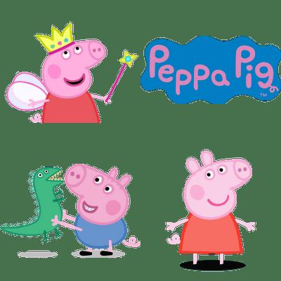 Peppa Pig transparent PNG images.