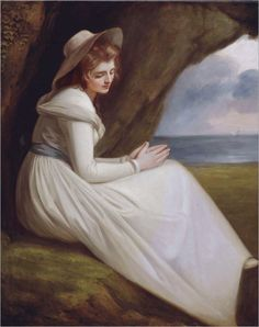 Miss Juliana Willoughby by George Romney, 1781.