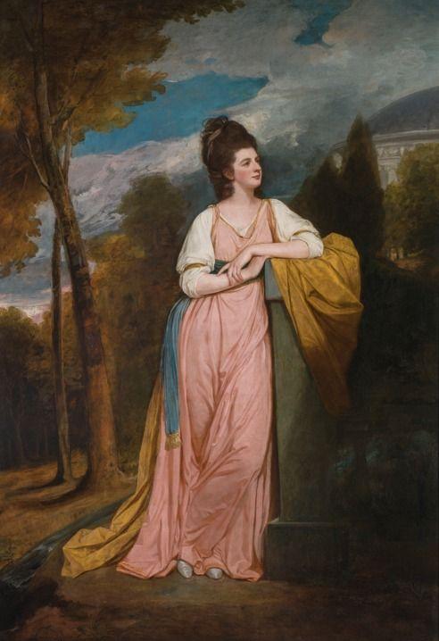 George Romney PORTRAIT OF LADY ELIZABETH CAPELL, LADY MONSON (1755.
