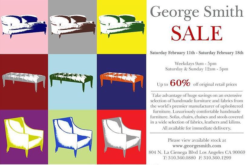 George Smith Sale February 11.