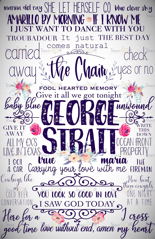 George Strait.