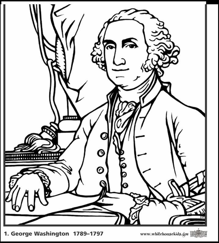 King George III Colouring Pages.
