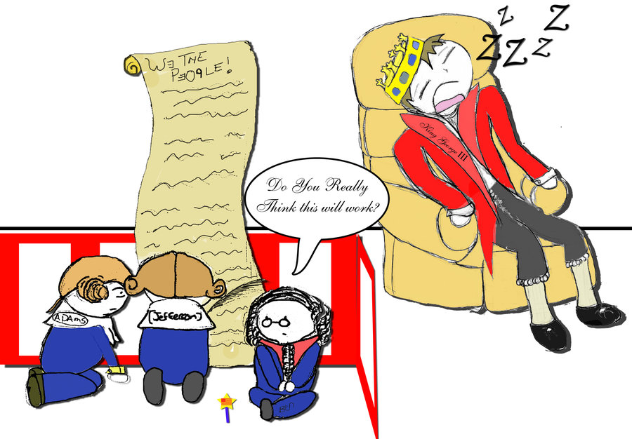 King George the III Babysits by toastysnowball on DeviantArt.