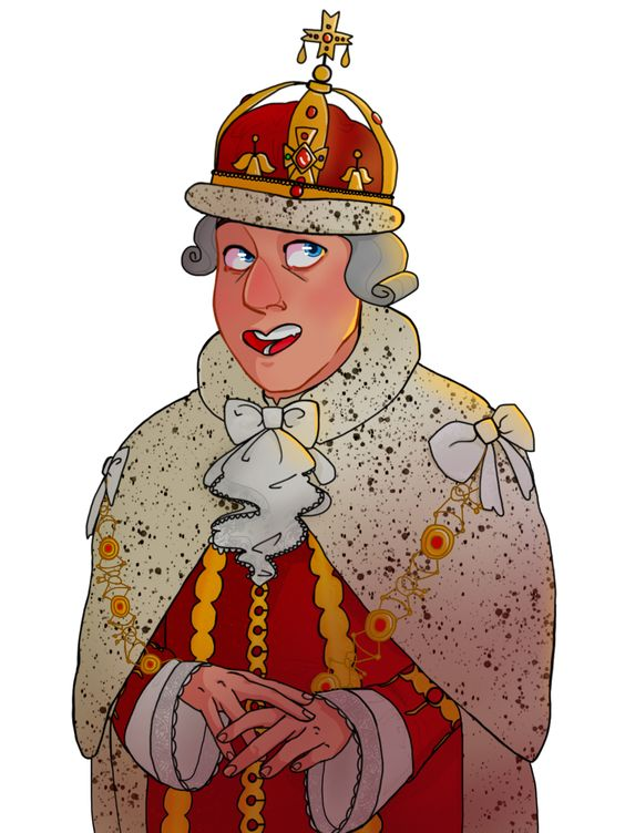 King George fanart by slvrhvk // finally! something I havent seen.
