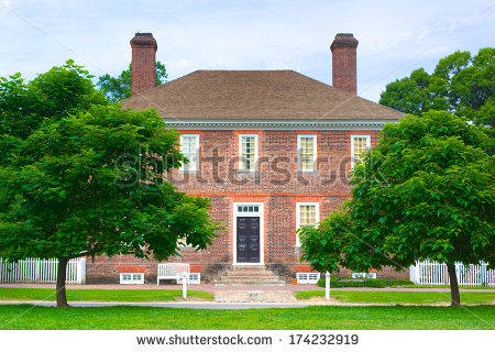 Colonial Williamsburg Stock Photos, Royalty.