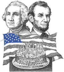Free Presidents Day Clipart.
