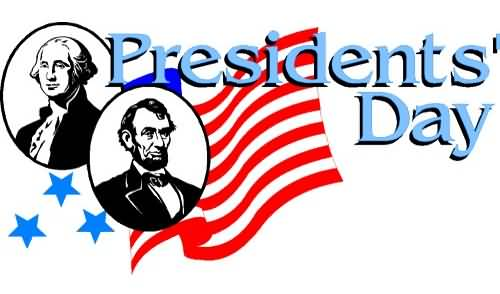 Presidents Day 2017 George Washington And Abraham Lincoln Clipart.