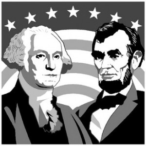 Showing post & media for Abraham lincoln and george washington.