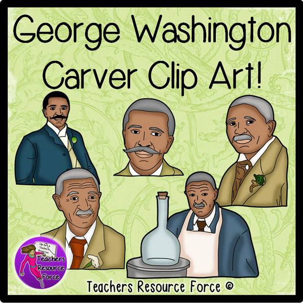 George Washington Carver Clip Art.