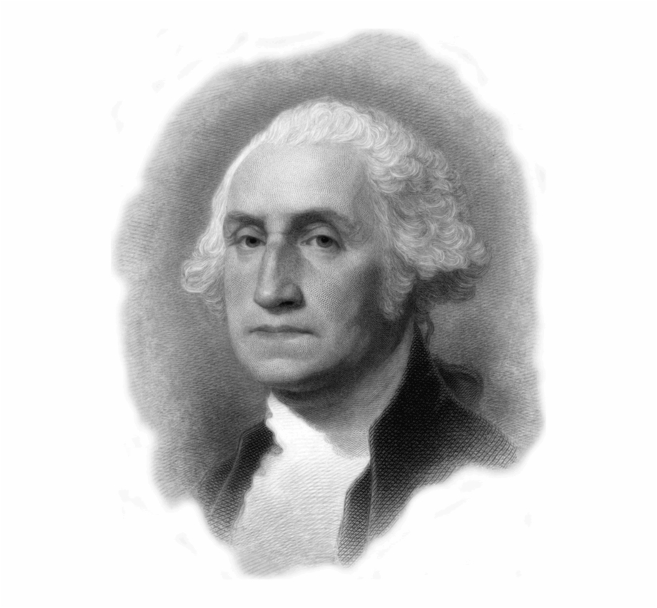George Washington Png Transparent Image.