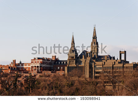 Georgetown University Stock Photos, Royalty.