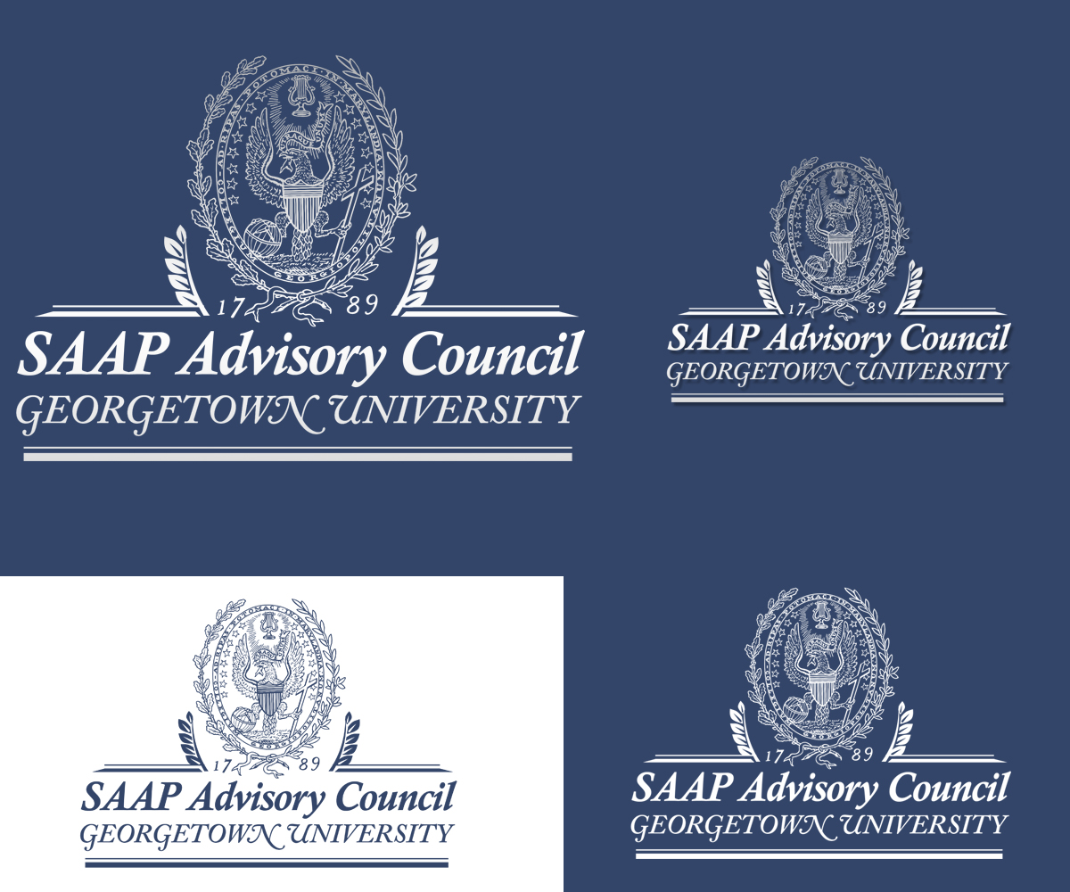 University Logo Design for Georgetown University Staff AAP.