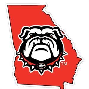 Georgia Bulldog Logo Clip Art.