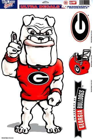 Georgia Bulldogs Mascot Clipart.