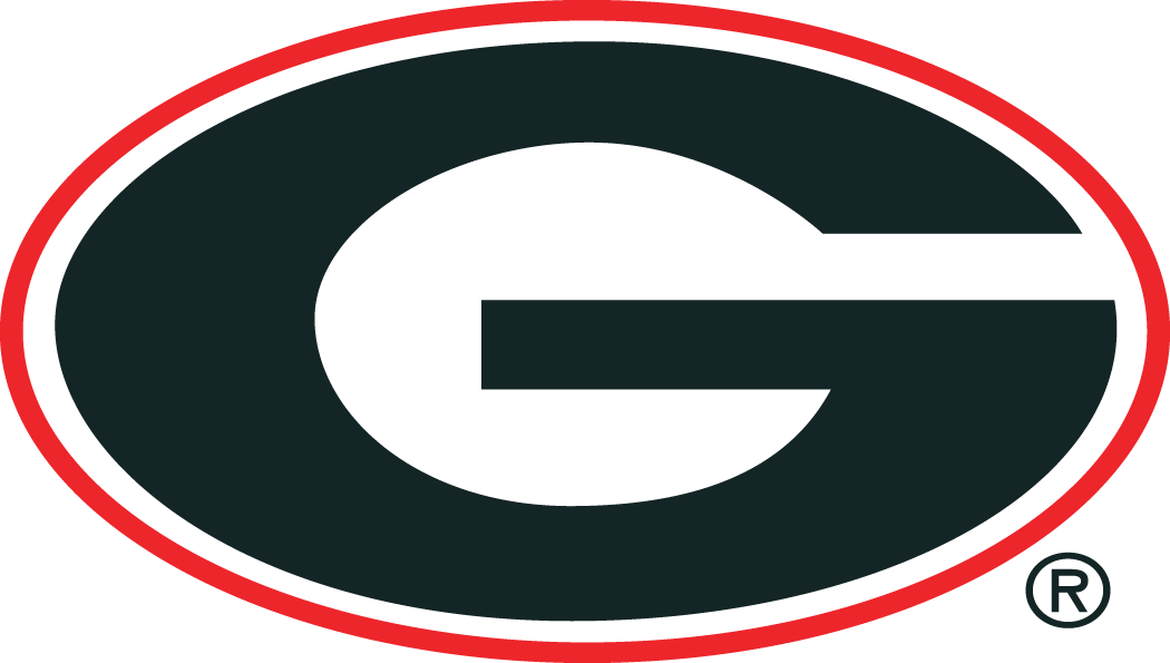 Georgia Bulldogs Primary Logo (1964).