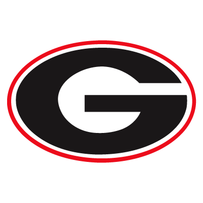 Georgia Bulldogs logo vector.
