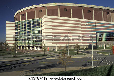 Stock Photograph of dome, stadium, Atlanta, GA, Georgia, The.