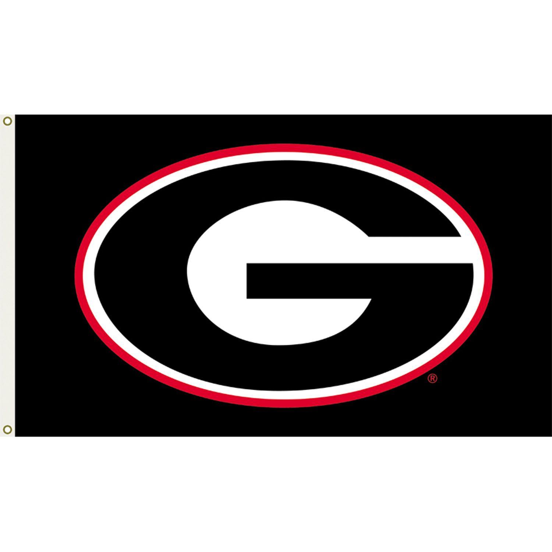 Georgia Bulldogs 3ft x 5ft Team Flag.