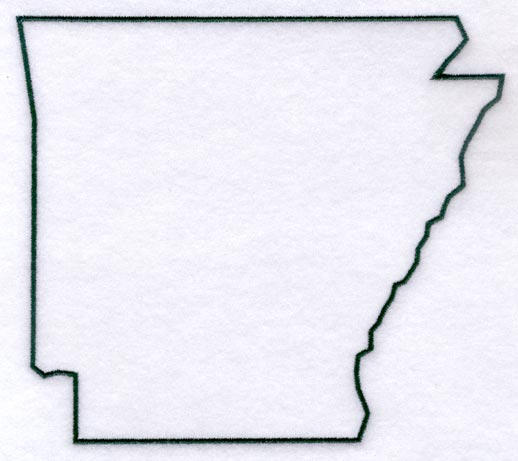 Georgia State Outline.