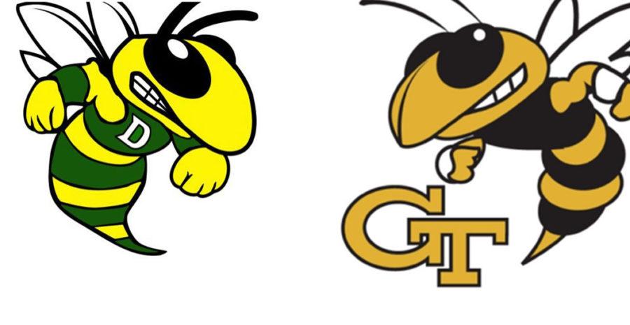 Georgia Tech's Buzz Bests Damascus High Swarmin' Hornets In Fight.