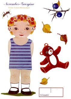 Georgine el hada de Noviembre] [Toj lil blomsterbarn :: Flower.