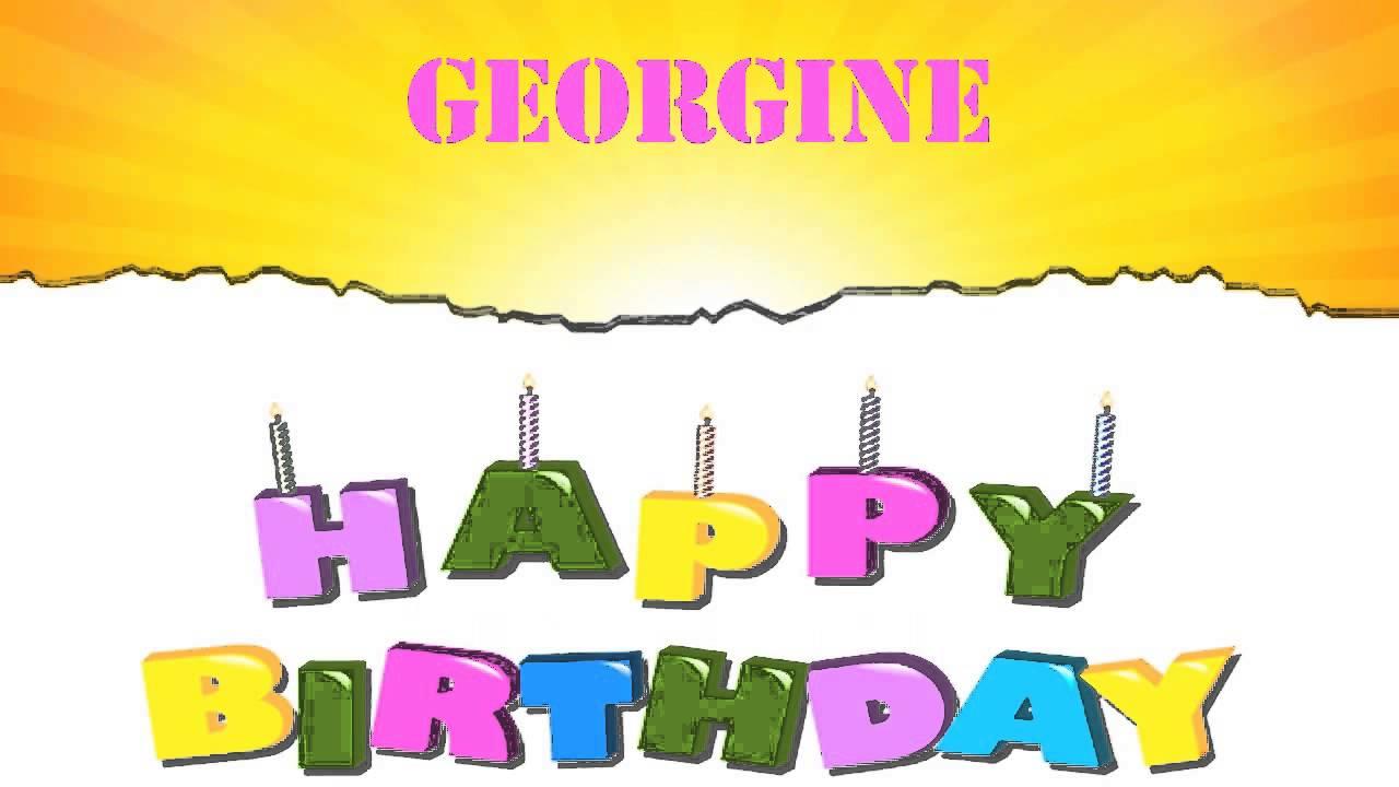 Georgine Wishes & Mensajes.