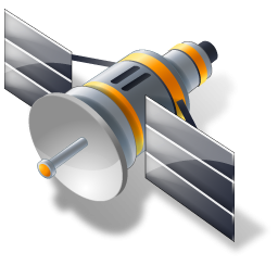 Satellite cliparts.