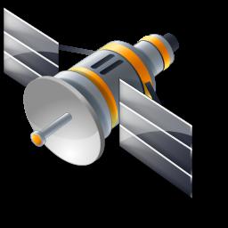 Satellite cliparts.