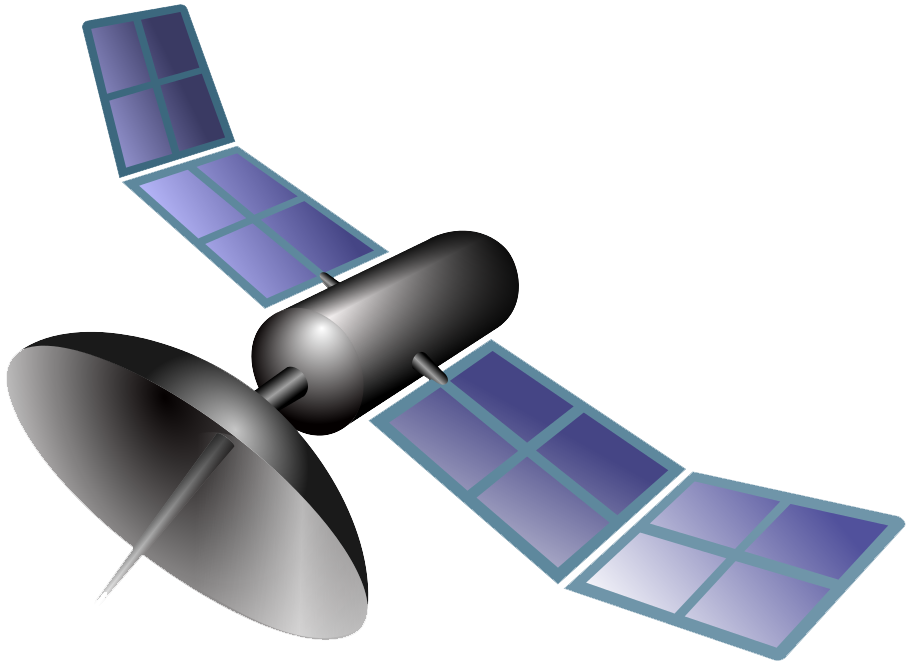 Weather Satellite PNG Transparent Images.