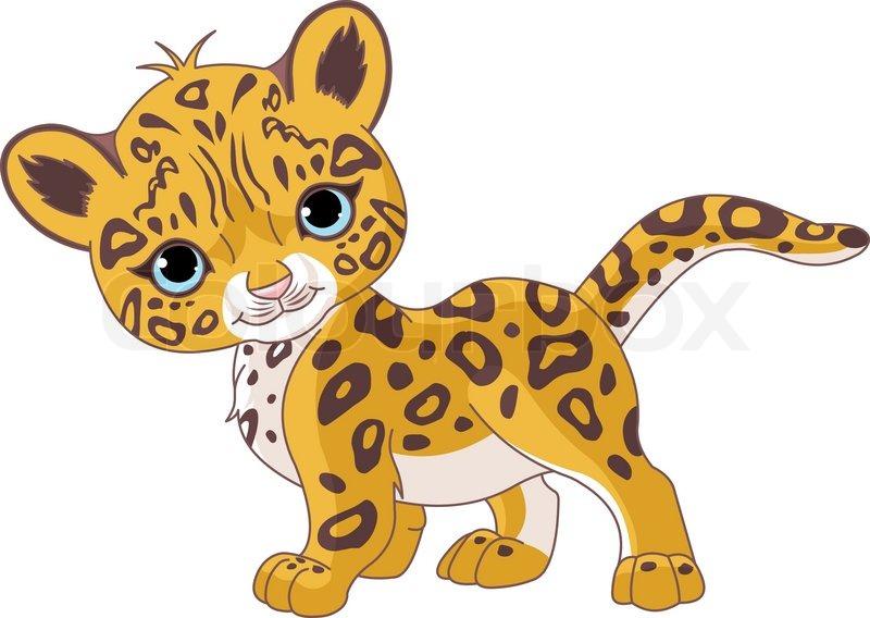 Cartoon Leopard Clipart.