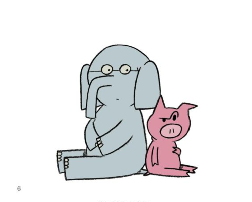 Gerald clipart clipground for Piggie and gerald coloring pages