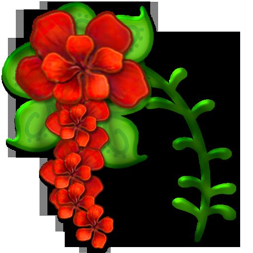 Geraniums Clipart.