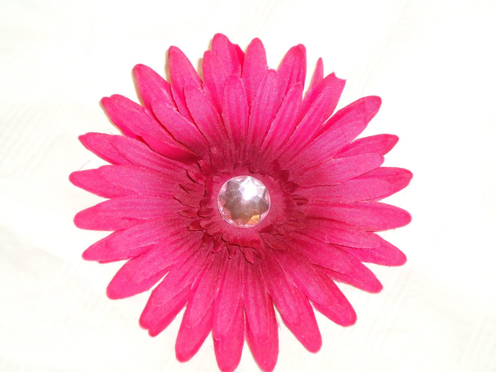 Pink Gerber Daisy Clip Art.