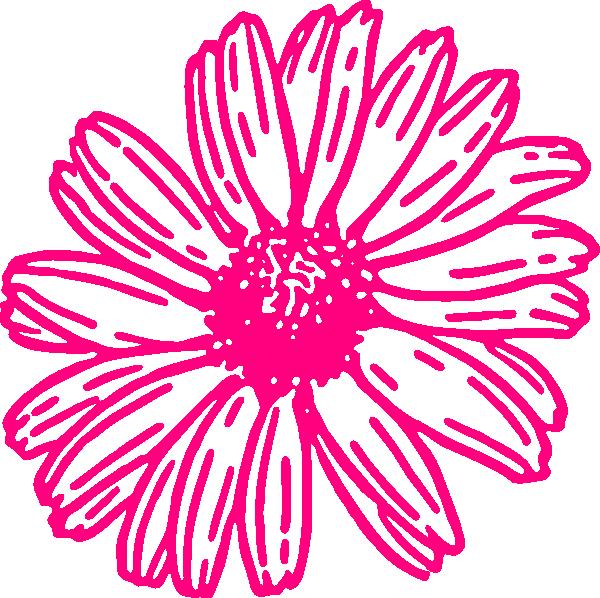 Gerber daisy clip art.
